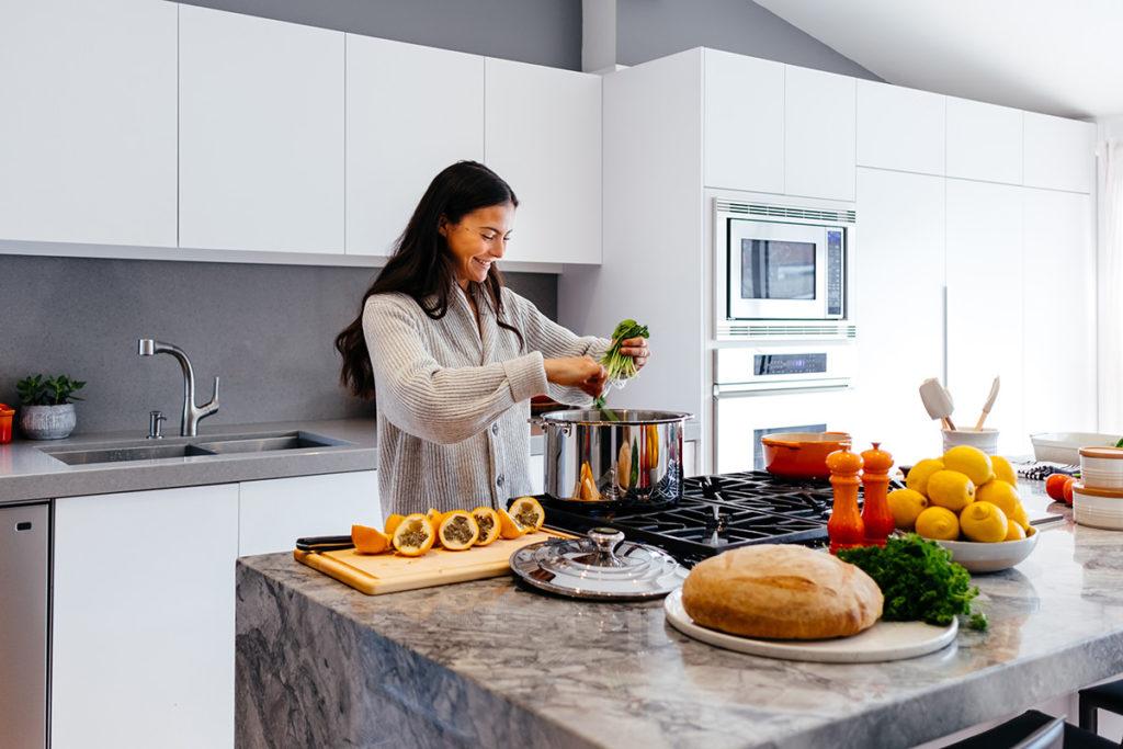 Une cuisine active