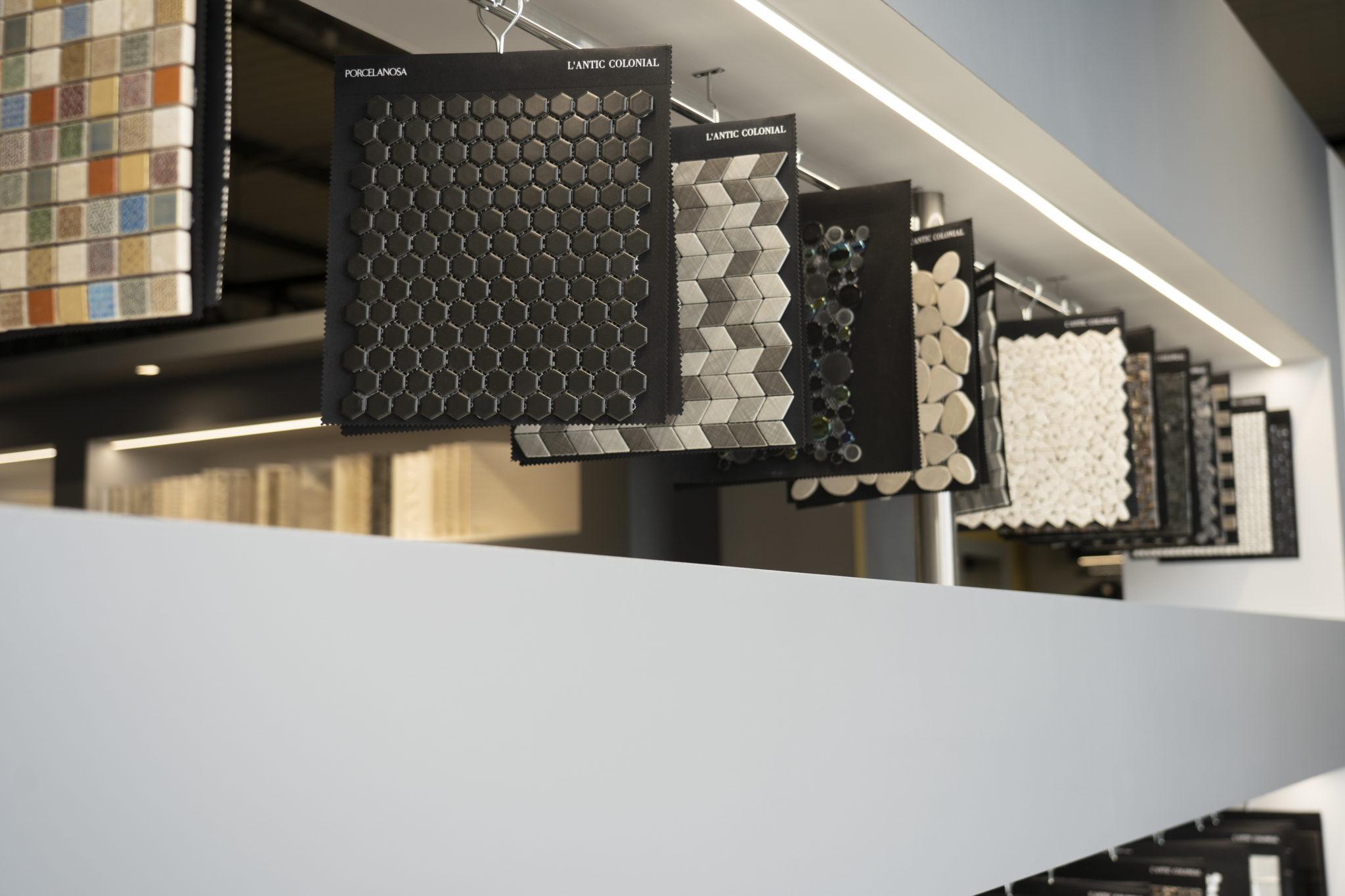 Carrelage : la plus belle matériauthèque chez Loïc Gréaume